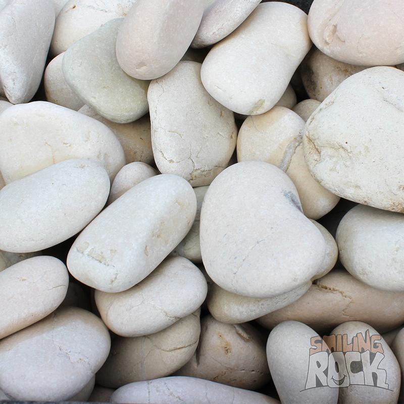 Beach White Pebbles