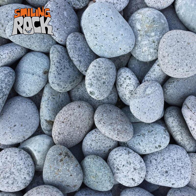 light grey quail egg pebbles