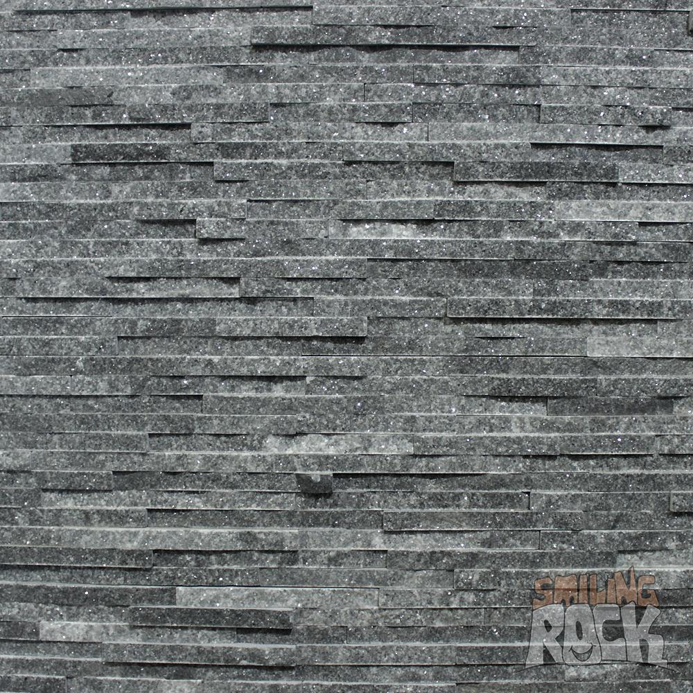 Thin Grey Quartz Stack Stone