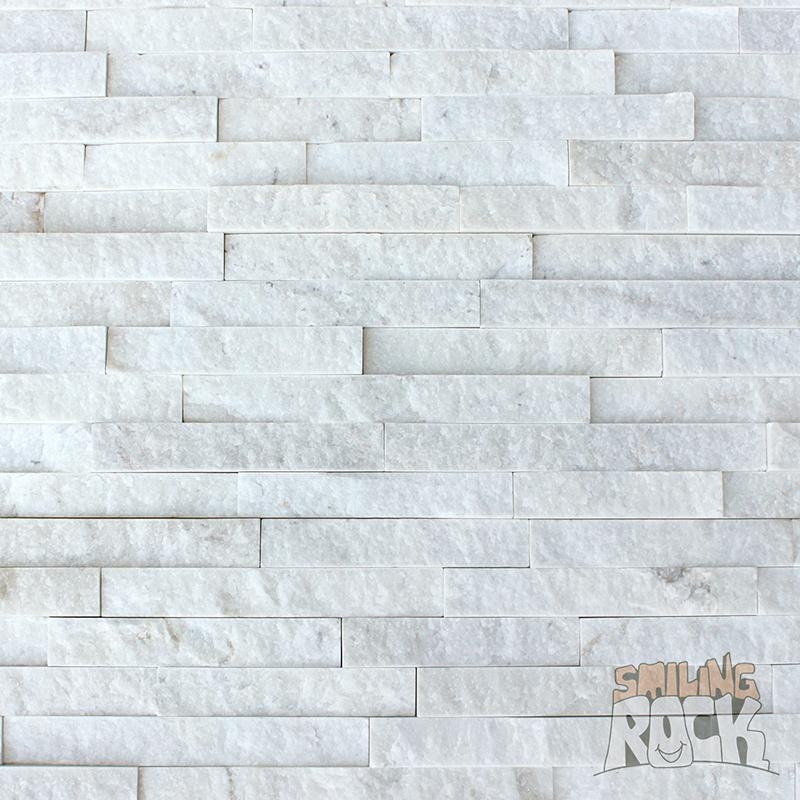 Milky White Stack Stone